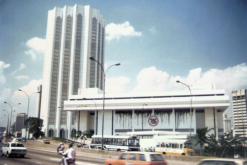 1986 Kuala Lumpur Dayabumi and Pos Malaysia HQ. Jalan Sambanthan.jpg