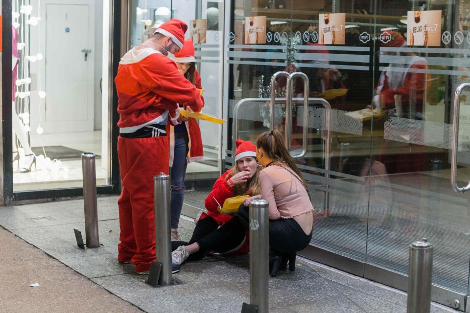 Как студенты Оксфордского университета дух Рождества искали