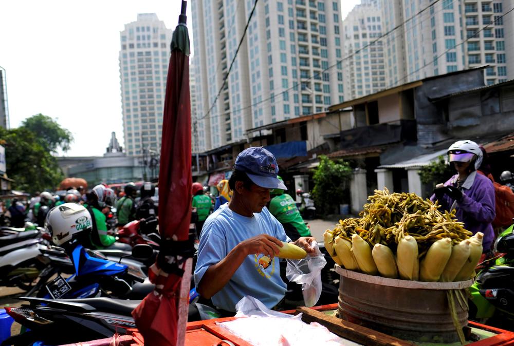 Фото повседневной жизни в Индонезии