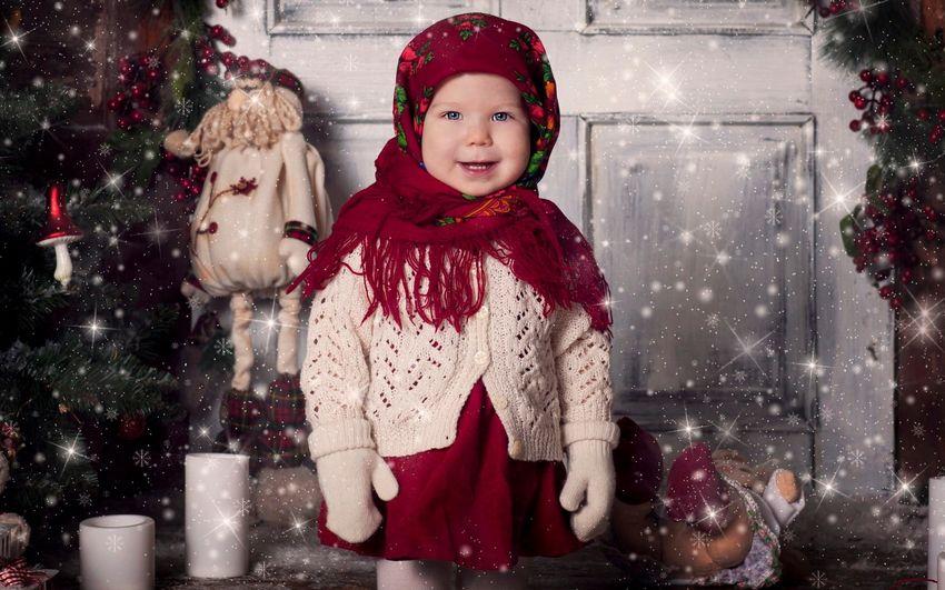 Новый год, дети, девочка, подарки, сказка