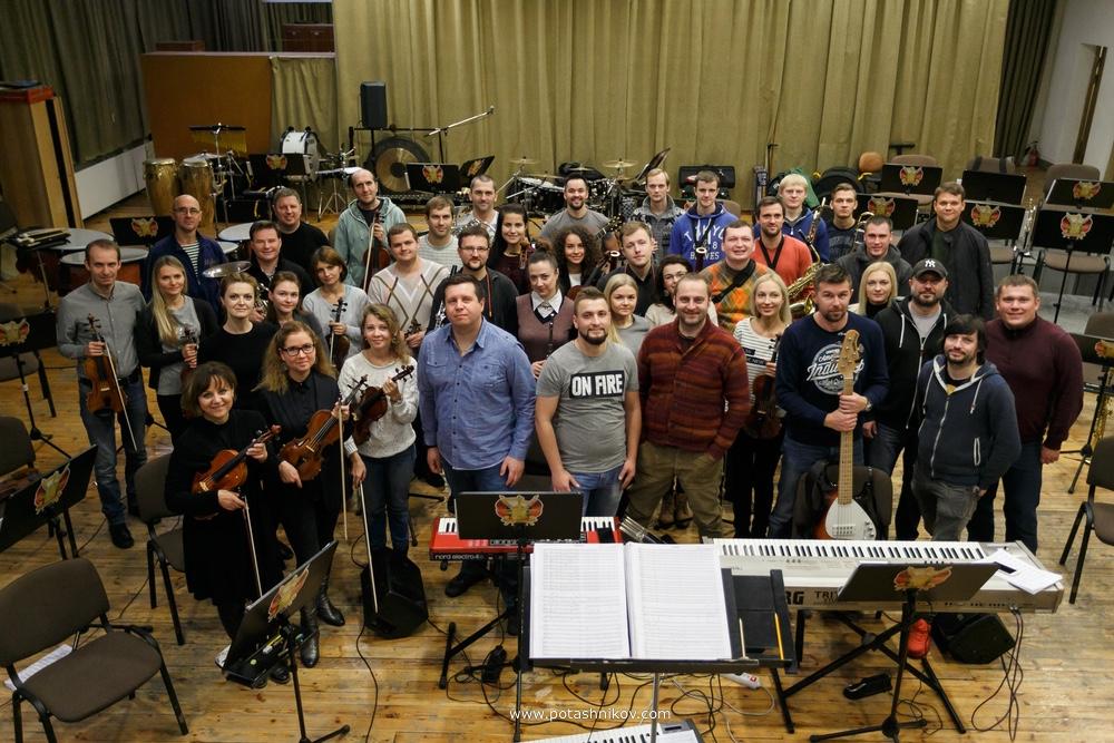 Фотографии с репетиции группы J-МОРС с президентским оркестром Республики Беларусь, скоро концерт!