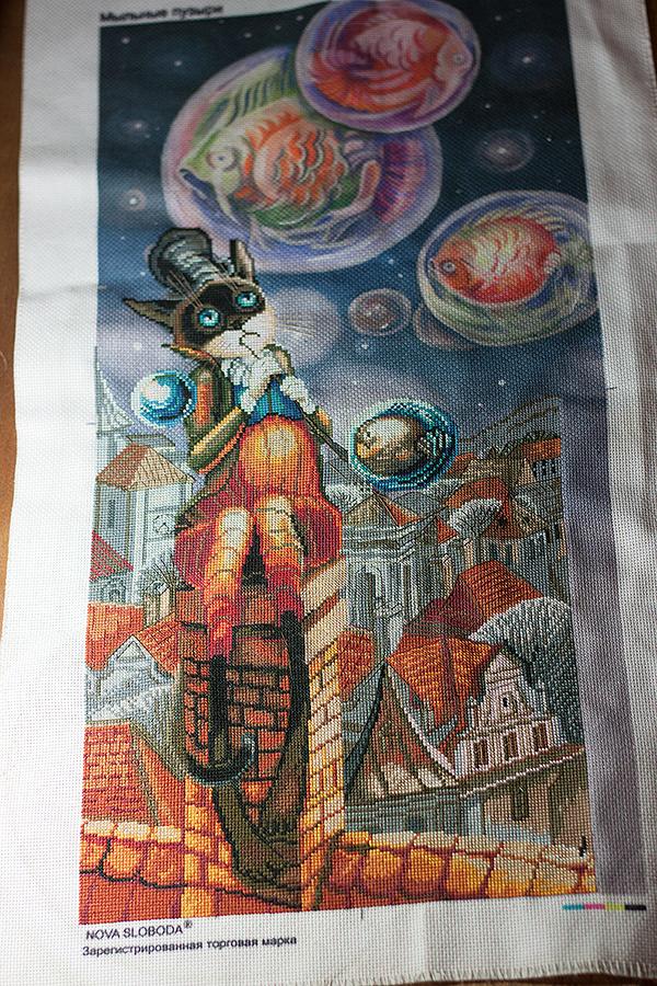 Nova sloboda вышивка мыльные пузыри 17