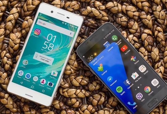 Sony Xperia X Performance и Samsung Galaxy S7