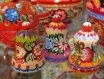 Ярмарка народных художественных промыслов России. Изделия из дерева и бересты
