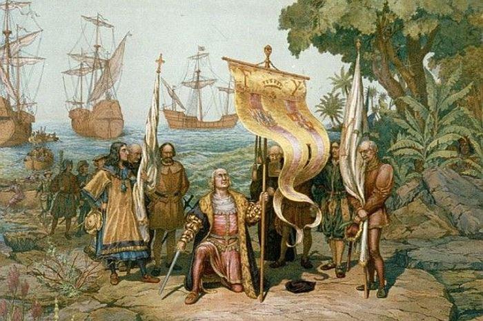 Высадка Колумба в Америке Смерть Колумба в 1506 г. была почти незамеченной – к тому времени ег