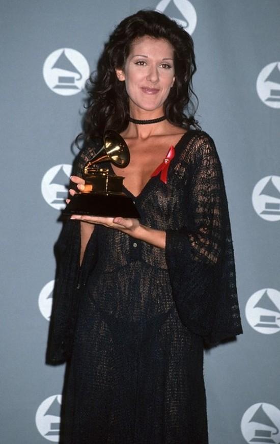 9. Селин Дион на премии «Грэмми», 1993 год