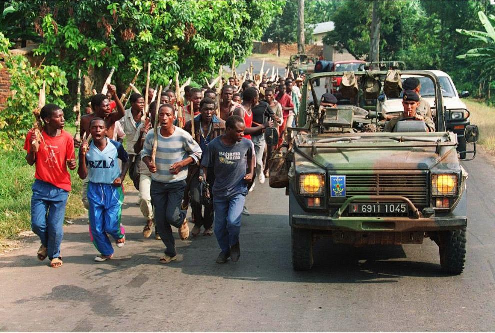 20. Как и на Балканах, западные «миротворцы» сыграли в руандийской трагедии исключительно позор