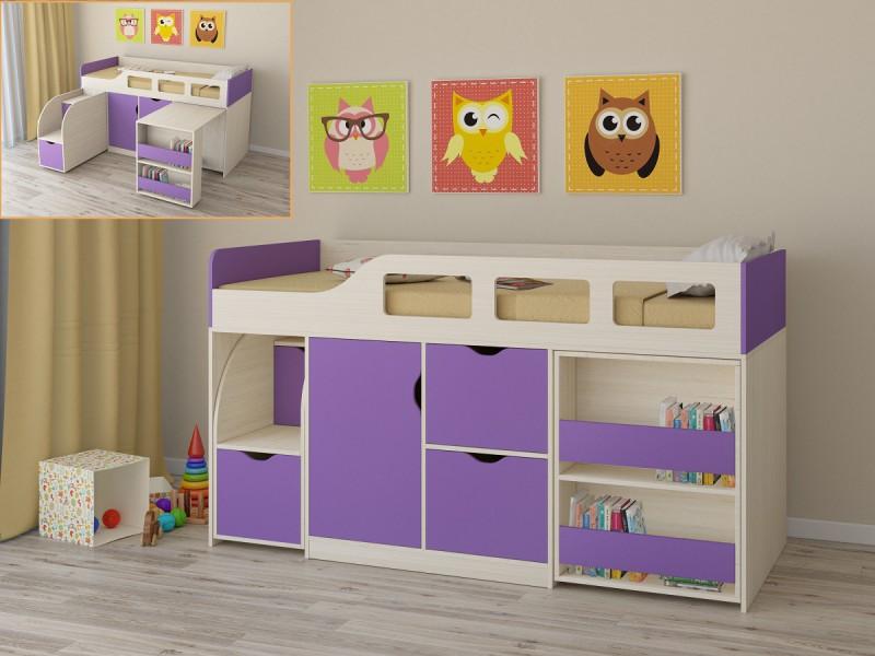 Интересный вариант для детской комнаты (1 фото)