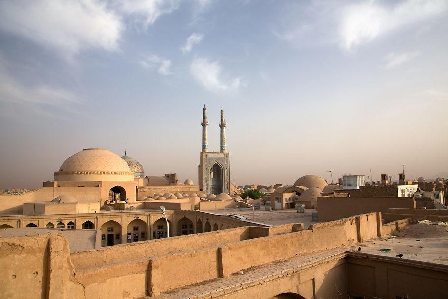 Мечеть Масджид-е Джаме, Иран.