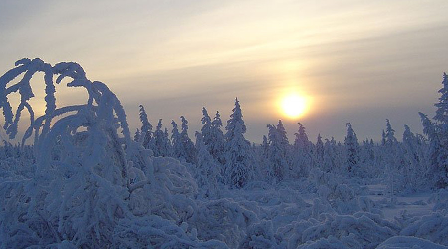 15. Республика Саха, Россия Климат на этом огромном участке территории, находящемся за Полярным круг