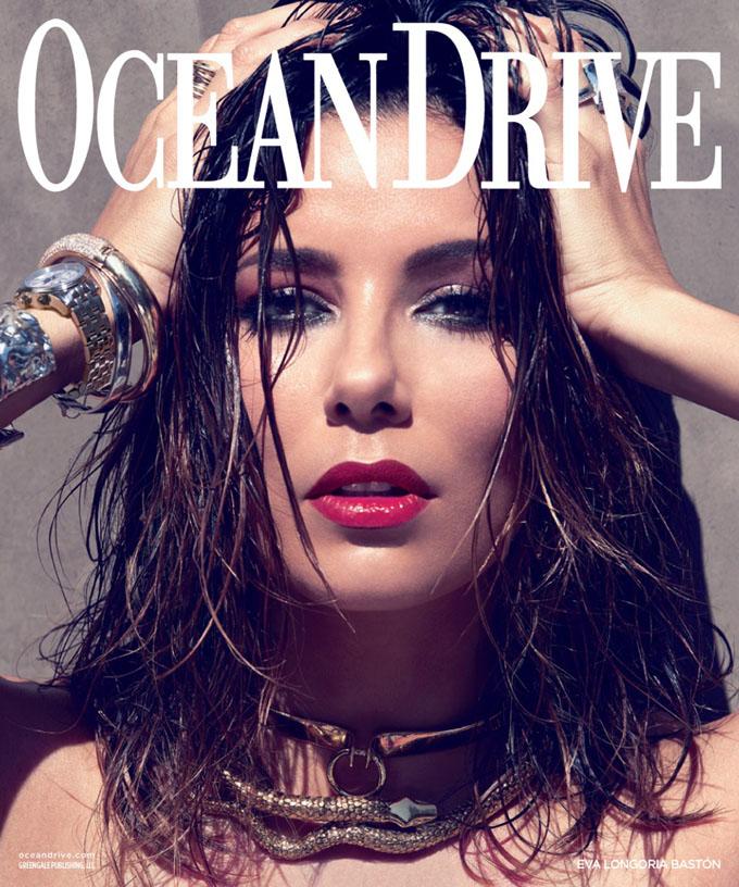 Ева Лонгория в Ocean Drive Magazine