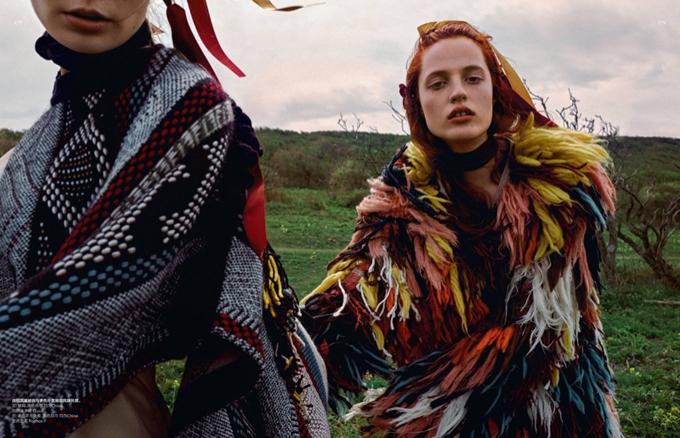 Фотосессия в Vogue China
