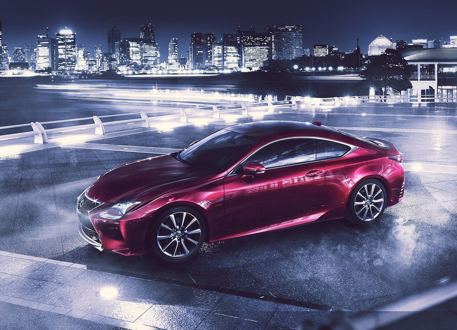 Lexus RC: Первая «токийская» новинка