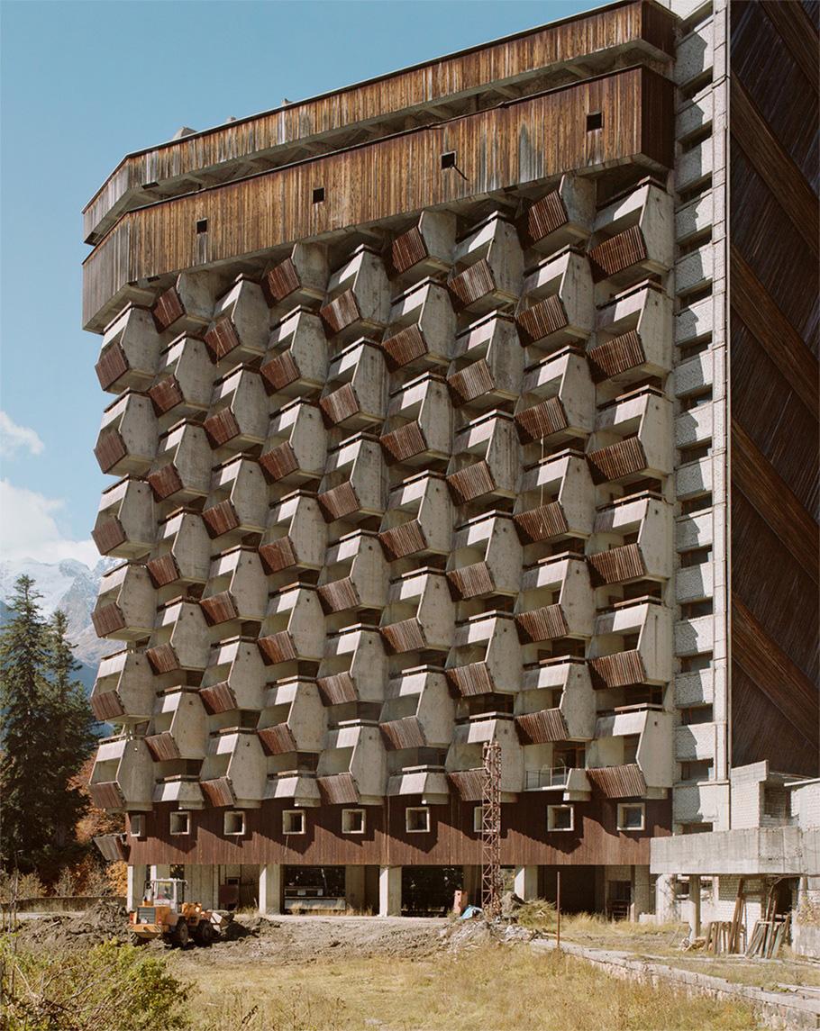 Отель на Домбае.