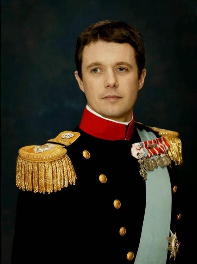 © Frederik, Crown Prince and Mary, Crown Princess of Denmark  Старший сын королевы МаргаритыI