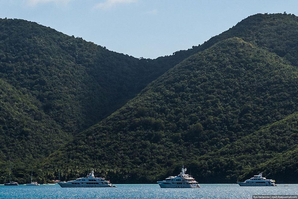 Остальные острова БВО малозаселенные.