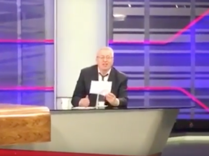 Смех Владимира Жириновского вполне может стать рингтоном для будильников