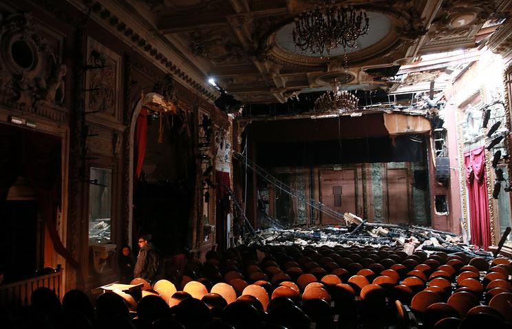 Навосстановление здания «Школы актуальной для нашего времени пьесы» истратят 577 млн руб.