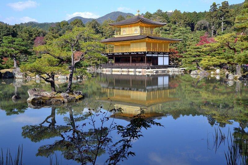 Киото, Золотой павильон.