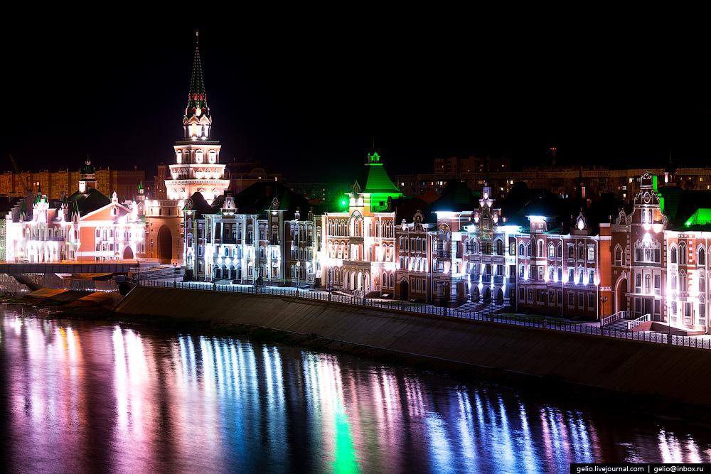 «Красный город» России. Йошкар — Ола с воздуха