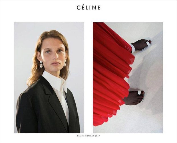 Celine Spring Summer 2017 Campaign by Juergen Teller (5 pics)