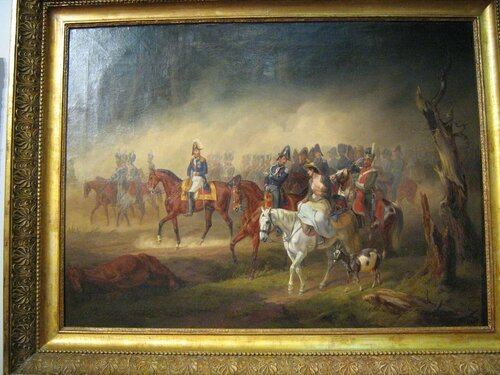 Эпизод из компании 1812 года. Евгений Богарне на дороге под Вязьмой.