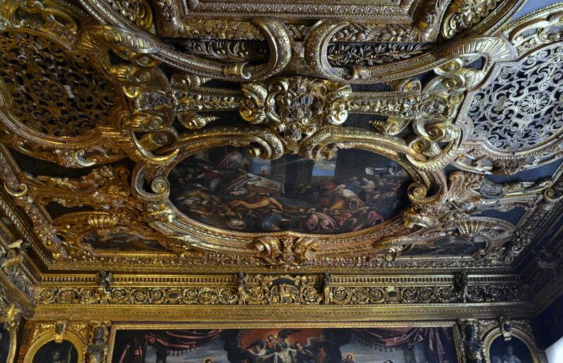 потолок во дворце Дожей