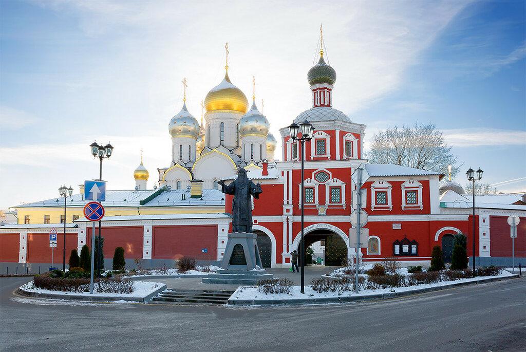 Москва. Зачатьевский монастырь .