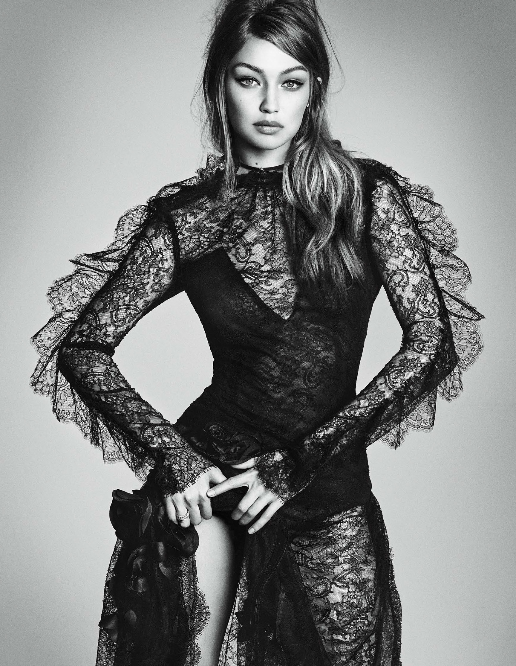 Джиджи Хадид / Gigi Hadid by Luigi Murenu and Iango Henzi - Vogue Japan december 2016