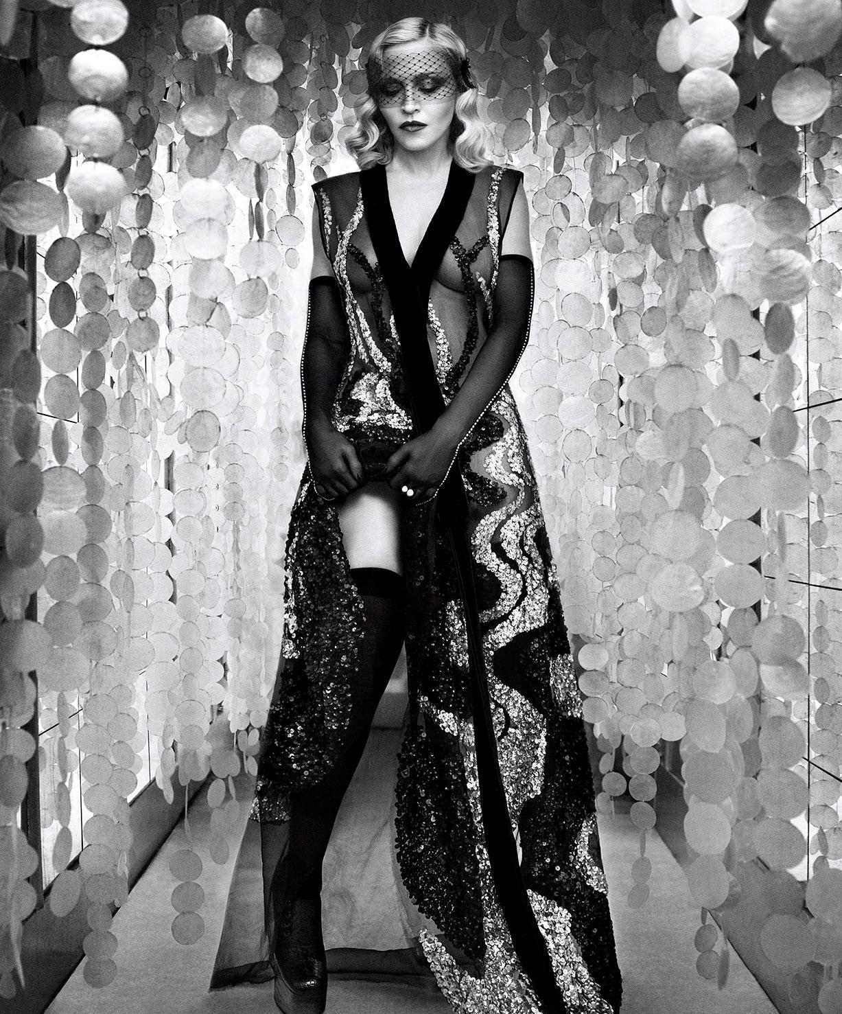 """Madonna / Мадонна в журнале Harper""""s Bazaar US, февраль 2017 / фотографы Luigi & Iango"""