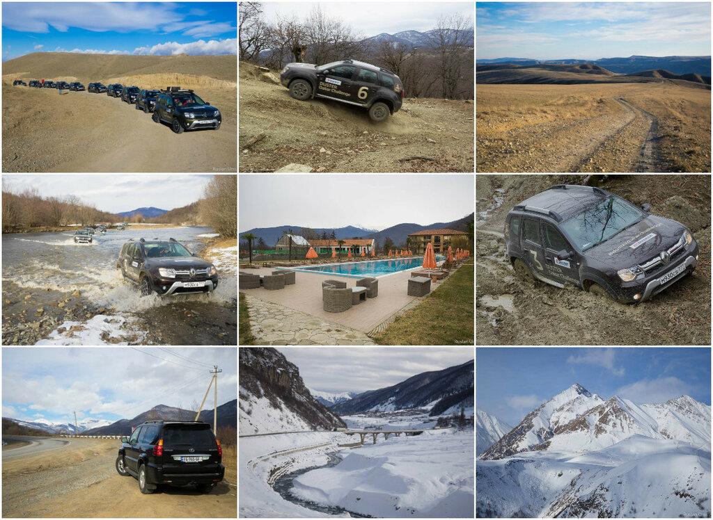 Duster Dakar Challenge в Грузии на Renault Duster (декабрь 2016)
