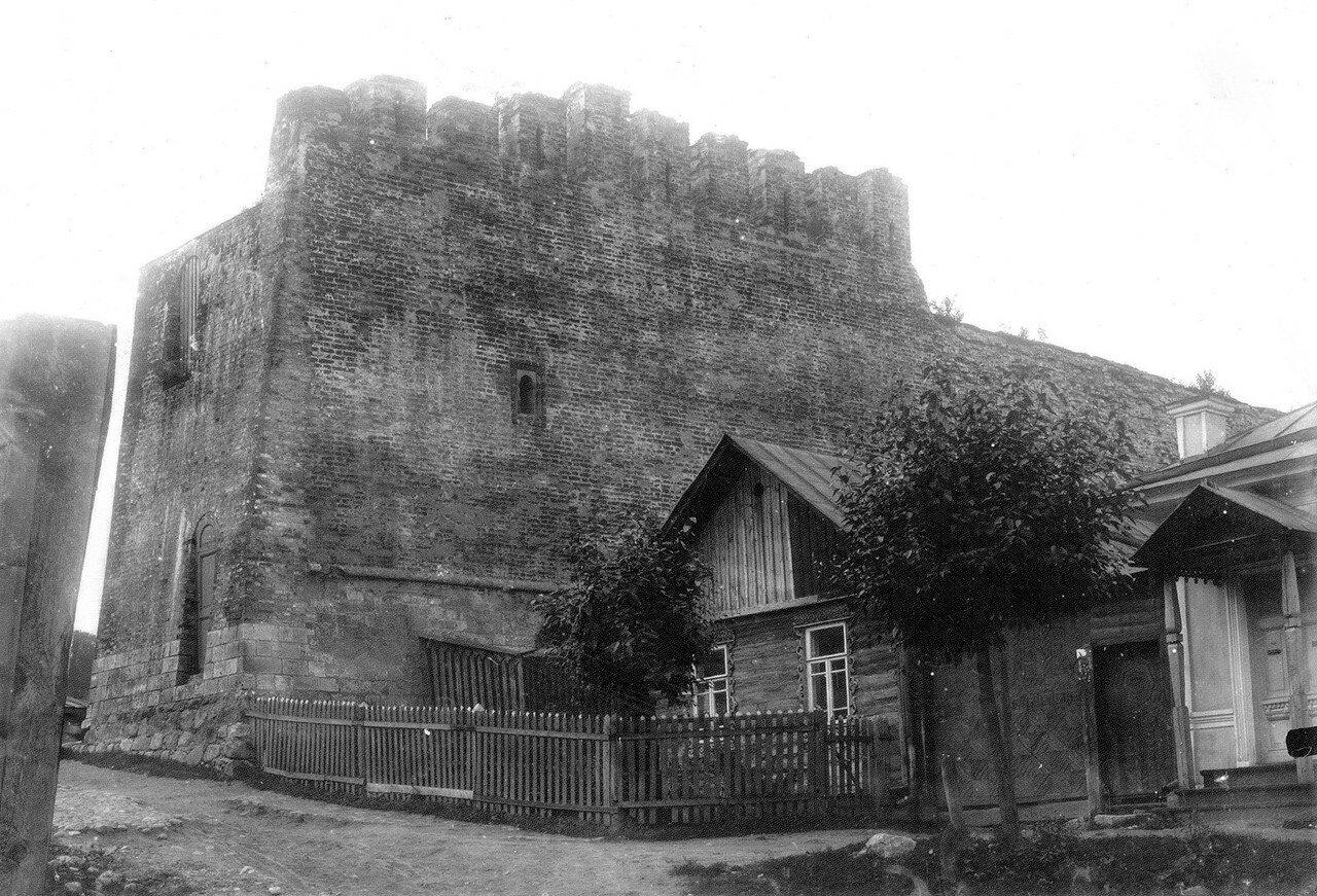 Крепостная стена у Малого Пятницкого пролома. 1907