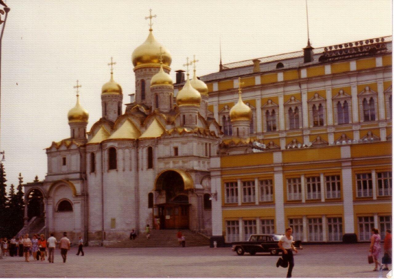 Москва. Кремль. Благовещенский собор