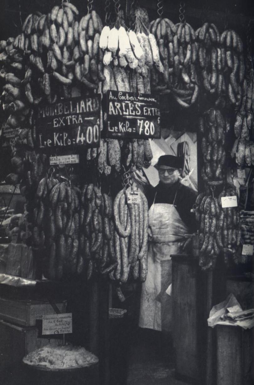 1932. Ле-Аль. Колбасная лавка