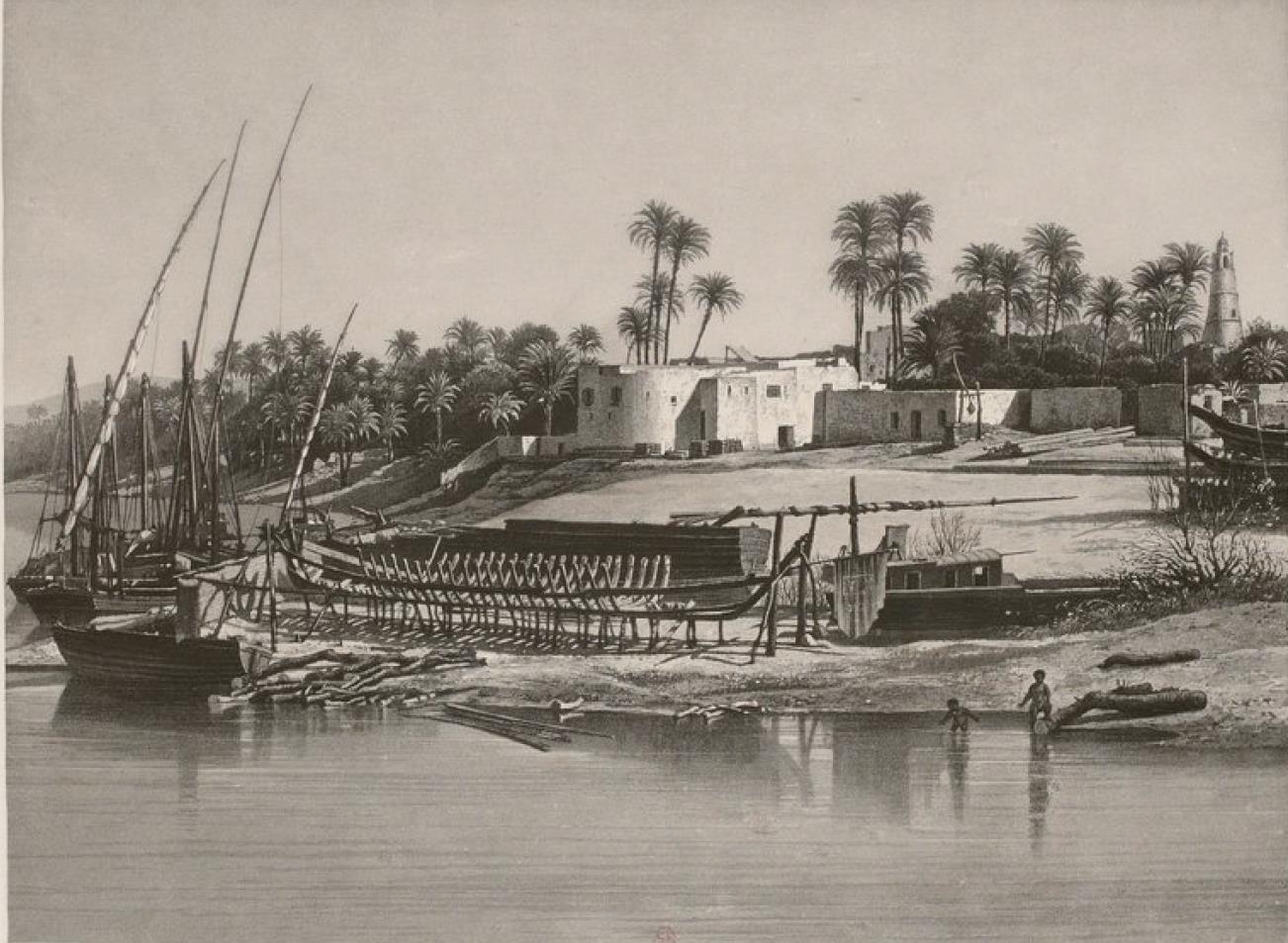 Египет. Лускор. Вид с Нила