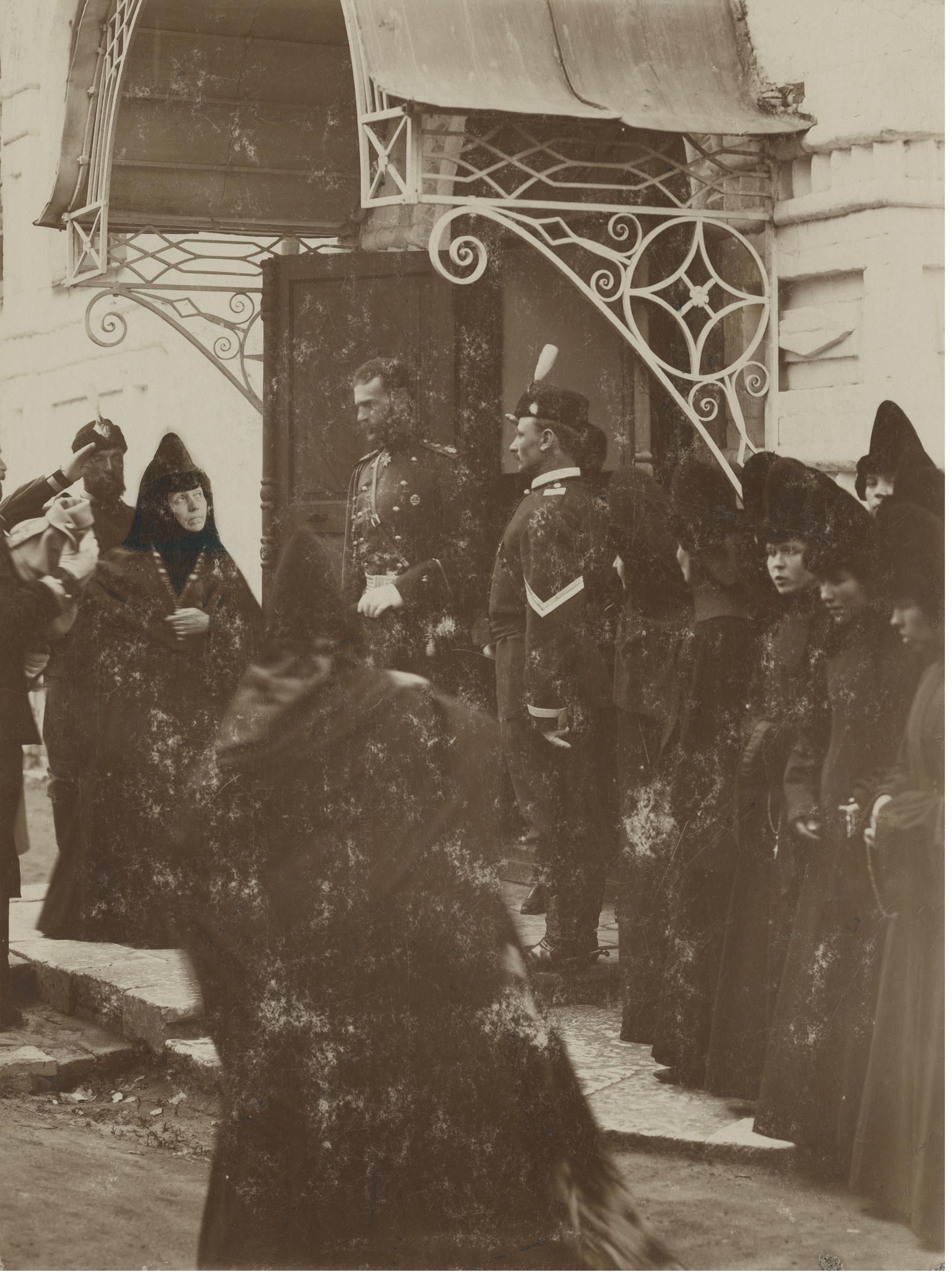 Посещение Великим князем Сергеем Александровичем Успенского Княгинина монастыря