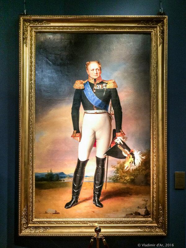 Парадный портрет императора Александра I