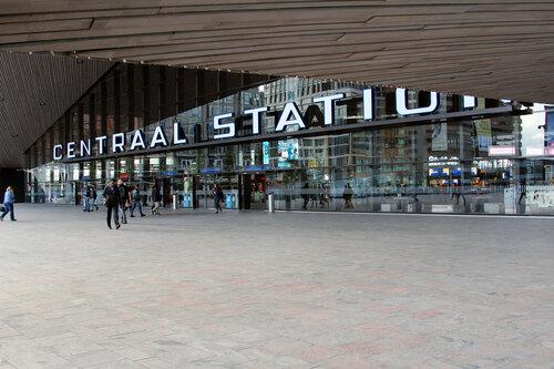 Железнодорожный вокзал в Роттердаме