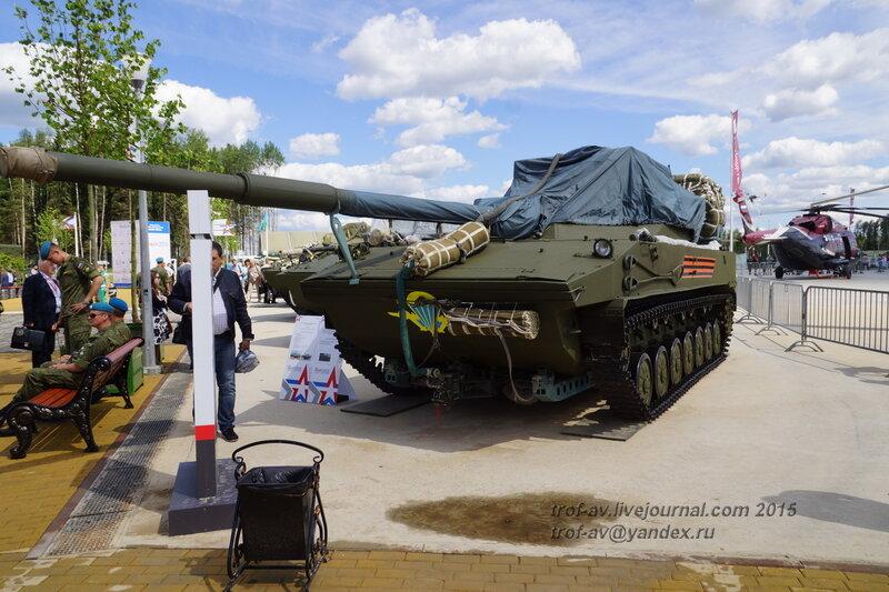 2С-25 Спруд-СД, Форум Армия-2015, парк Патриот
