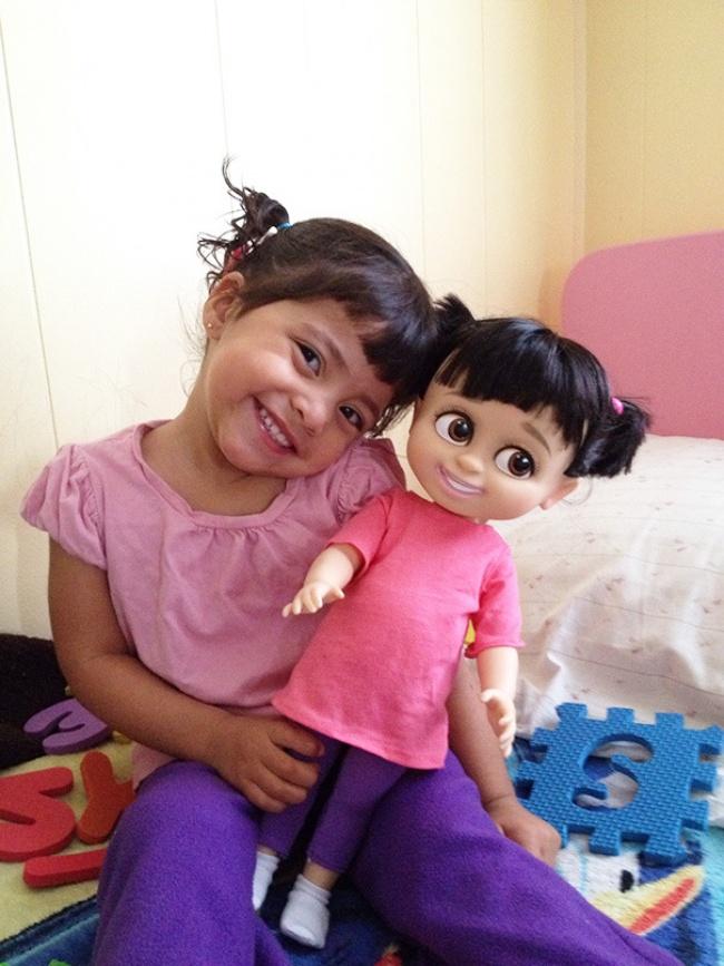 Дети и их куклы