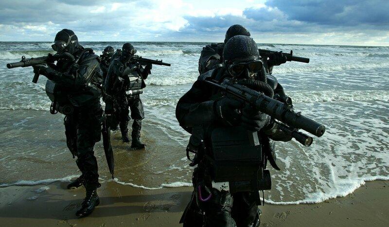 Морские котики: элита спецназа США