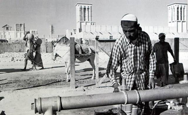Водоснабжение в Дубаи. 1960-е. Дубаи сегодня — это совершенно иной мир. Великолепные небоскреб