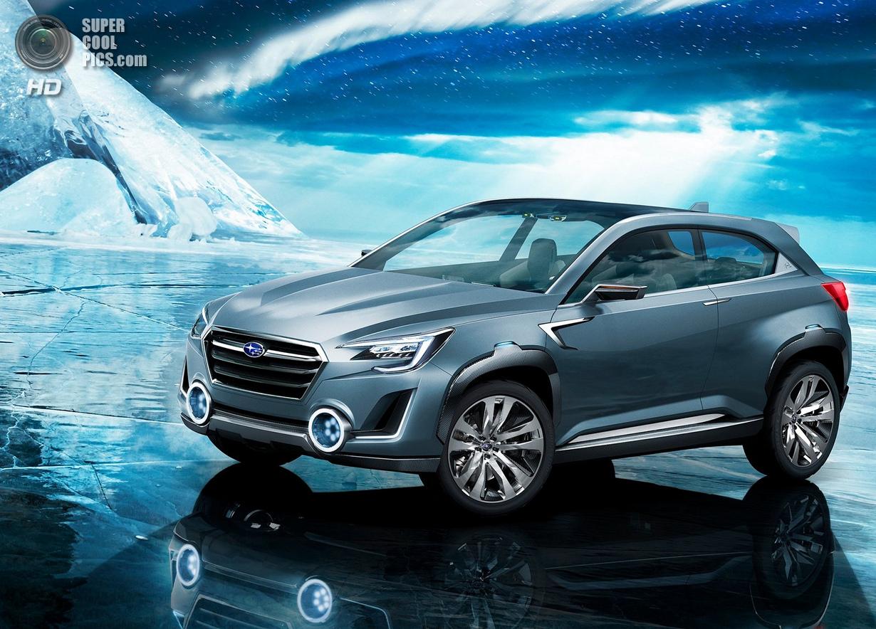 Видение будущего от Subaru (13 фото)