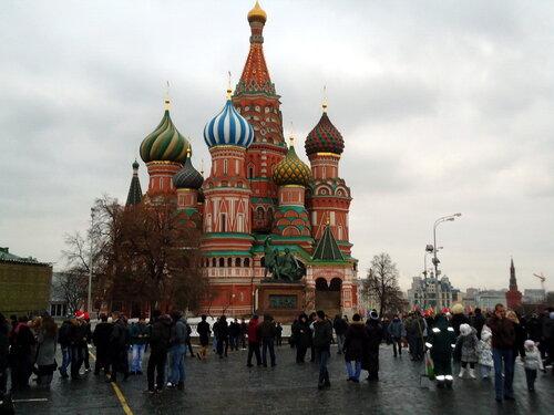 г Москва. Собор Василия Блаженного