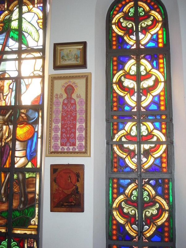 Икона святой мученицы Ии в церкви