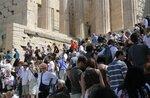 Вход на Акрополь