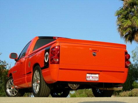оранжевый супер-трак