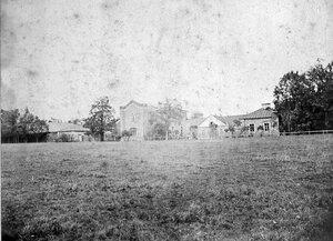Фото начало XX века. Императорская ферма в Царском Селе.