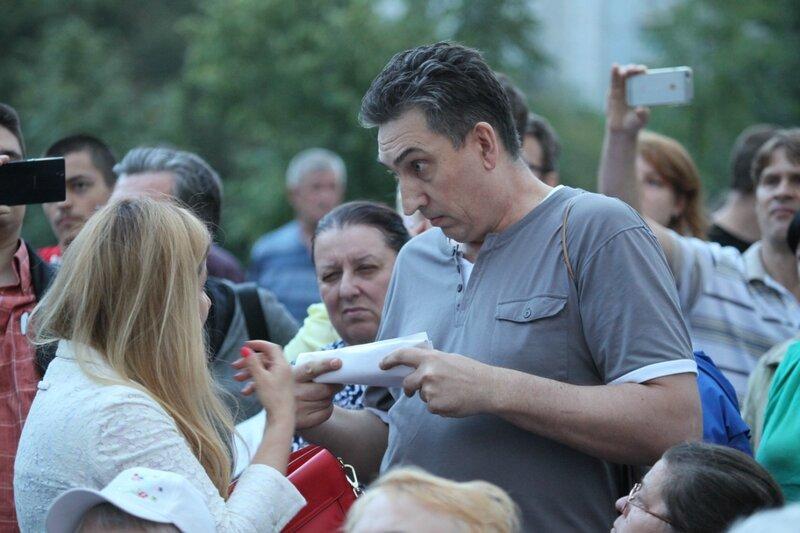 Митинг КПРФ в Люблино