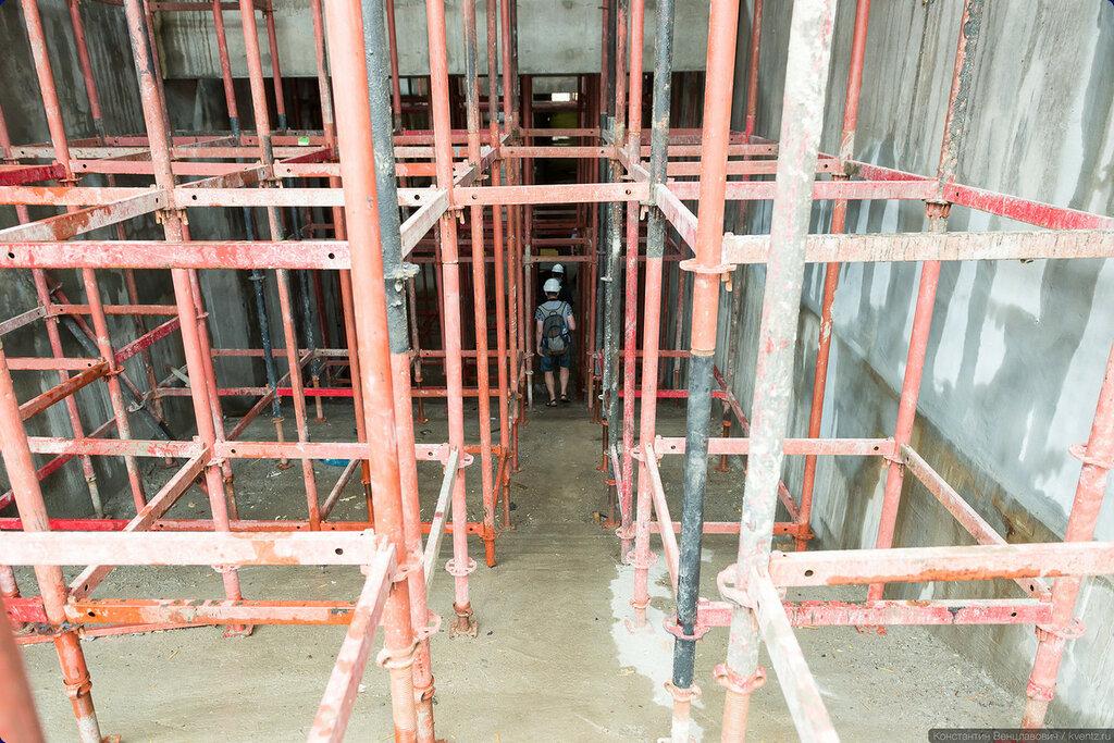 Лестничный сход северного вестибюля